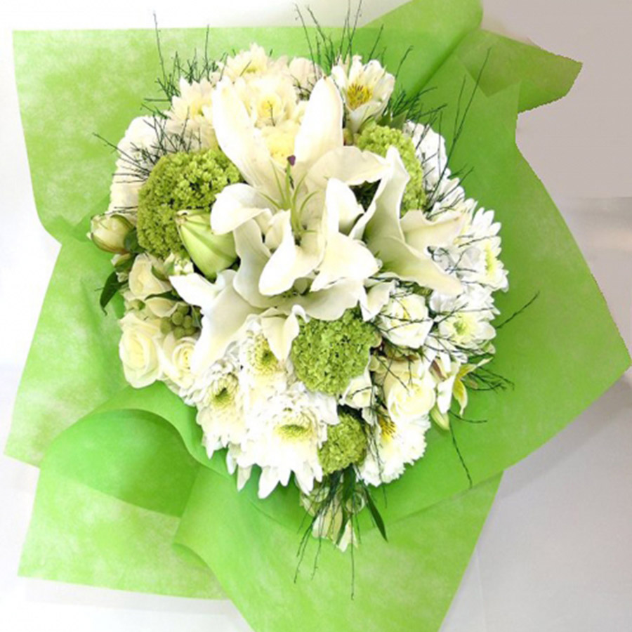 Classic White Flower Bouquets Auckland Flowers