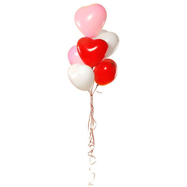 Heart Shaped Balloon Bouquet