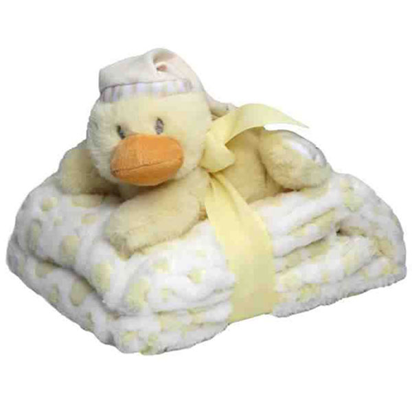 Snuggles Blanket and Duck