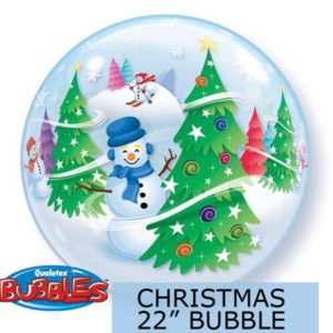 "Christmas - 22"" Bubble Balloon"
